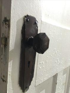 Art Deco 1930 Bakelite door furniture door handle door knob