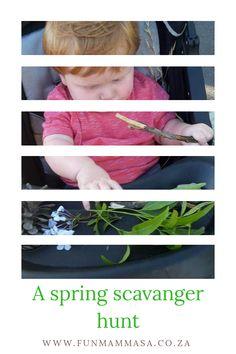 A spring scavanger hunt
