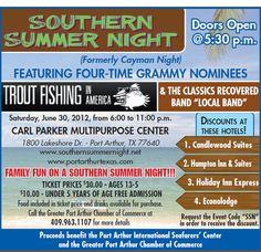 Southern Summer nights in Port Arthur.