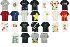 The winners of last year's UNIQLO design competition, UTGP with the theme of Nintendo have been decided. Design Competitions, Uniqlo, Madness, Cool Stuff, Stuff To Buy, Nintendo, Shirt Designs, Nerd, Geek Stuff