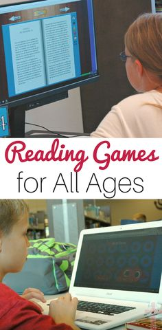 Exploring Online Reading Games for Multiple Ages