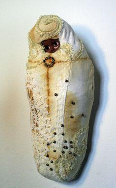 Textile sculpture by Lotta-Pia Kallio