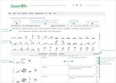 Sequence Wiz is a web-based yoga sequence builder that helps yoga teachers create and organize practices. Choose your poses, enter the instructions and you are done!