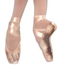 a look inside a ballet shoe Because people always ask if you actually stand on tip toe