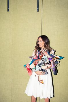 SJP and Gayle King's Hotel Suite Stiletto Party