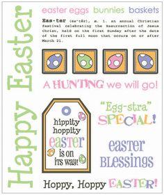 Easter Gift Set by Lesley Hoppy Easter, Easter Gift, Easter Crafts, Easter Bunny, Easter Eggs, Easter Quotes, Easter Sayings, Easter Egg Basket, Jesus Resurrection