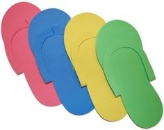 JOVANA 36 Pair Disposable Foam Pedicure Slippers Multi Color Flip Flop Salon Nail Spa (Colors May Vary) * Click image for more details. (This is an affiliate link and I receive a commission for the sales) Pedicure At Home, Manicure E Pedicure, Nail Spa, Pedicures, Mani Pedi, Spa Prices, Spa Colors, Spa Slippers, Pedicure Designs