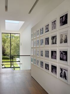 House Remodelling and Extension-Guildford - contemporary - hall - london - by Gregory Phillips Architects Interior Design Tips, Interior Decorating, Hallway Pictures, Family Wall Decor, Hall Design, Design Case, Home Fashion, Frames On Wall, Home Remodeling