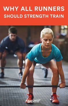 Weight lifting might make you a better runner—and that's not the only benefit you'll see. #running #tips http://greatist.com/fitness/why-all-runners-should-strength-train