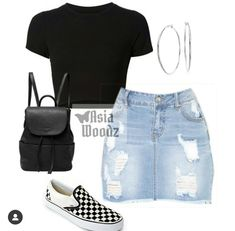 Swag Outfits For Girls, Boujee Outfits, Cute Swag Outfits, Teenage Girl Outfits, Teen Fashion Outfits, Girly Outfits, Look Fashion, Stylish Outfits, School