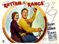 Frances Farmer & Bing Crosby movie lobbycard; 1936