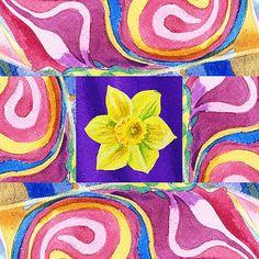 Irina Sztukowski - Festive Floral Daffodil