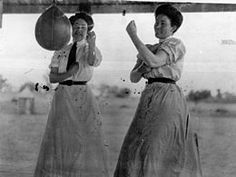 Sisters Booka and Chris Durack. Boxing 1892-1900
