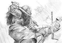 ArtStation - Daily Sketches Week 7, Even Amundsen
