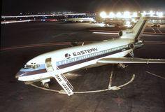 The EASTERN AIRLINES BOEING 727 WHISPERLINER