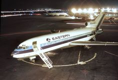 The EASTERN AIRLINES BOEING 727 WHISPERLINER