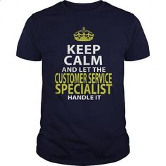 CUSTOMER SERVICE SPECIALIST - KEEPCALM GOLD #clothing #T-Shirts. I WANT THIS => https://www.sunfrog.com/LifeStyle/CUSTOMER-SERVICE-SPECIALIST--KEEPCALM-GOLD-Navy-Blue-Guys.html?id=60505
