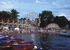 Willow Mill Park Roller Coaster | Willow Mill Amusement Park Photo
