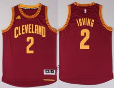 Cleveland Cavaliers #2 Kyrie Irving Revolution 30 Swingman 2014 New Red Jersey