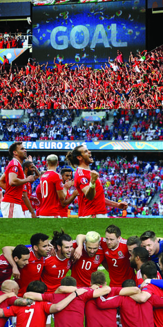 WAL v NIR is the first game in all Euros history wich ends 1-0 with an own goal. Wales at their two major tournaments: 1958 World Cup = Quarterfinals 2016 European Championship = Quarterfinals (WAL 1 - 0 NIR) #EURO2016