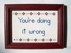 For when you just need to tell everyone around you what's what. | 23 Embroideries That Totally Get You