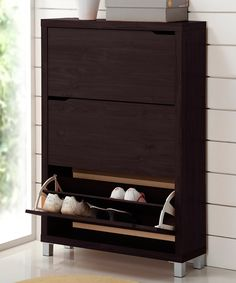 Look at this Dark Brown Simms Cabinet on #zulily today!