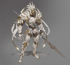 Fantasy Concept Art, Robot Concept Art, Armor Concept, Fantasy Character Design, Fantasy Armor, Fantasy Weapons, Anime Fantasy, Character Creation, Character Design Inspiration