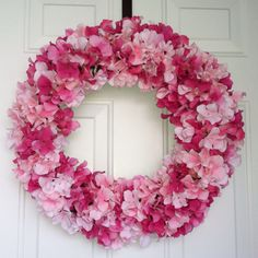 My 1st ever pin Hydranga wreath