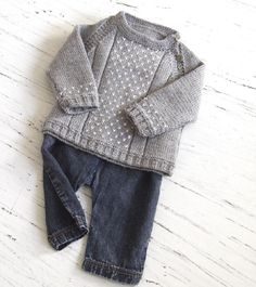 Start these patterns now for christmas: baby side open sweater by OGE Knitwear designs