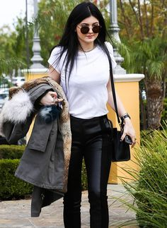 Kylie jenner street style love this beauty