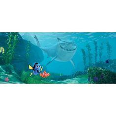 Némó és Szenilla gyerek poszter (202 cm x 90 cm) Pixar, Poster Mural, Decoration, Disney, Aquarium, Fish, Pets, Animals, Painting