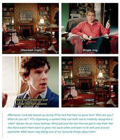 Sherlock and John Johnlock Sherlock Holmes Bbc, Sherlock Fandom, Sherlock Quotes, Sherlock John, Watson Sherlock, Jim Moriarty, Johnlock, Benedict And Martin, John Martin
