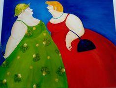 Mijn eerste olieverf schilderij.