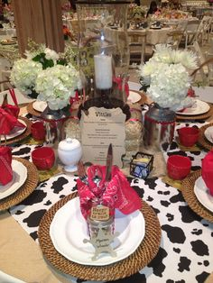 Calico and Cupcakes: A Terrific Tea: Thematic Party and Table Ideas
