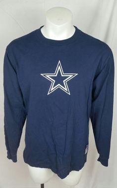 15934c71f01 Dallas Cowboys On Field Reebok T Shirt Mens Size Med NFL Licensed