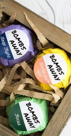 Labeling bath bombs can be difficult. Check out these popular sizes and methods to create perfect, professional looking bath bomb labels. OnlineLabels.com.