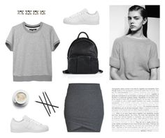 """""""Sneaker Style"""" by bellamarie ❤ liked on Polyvore featuring adidas, rag & bone/JEAN, Matteo, ONLY, Alexander Wang, Maison Margiela and CB2"""