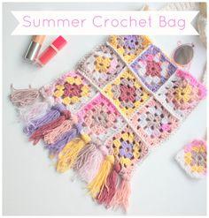 summer crochet bag DIY