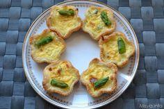 Questa mattina, oltre a darvi la ricetta per preparare le mini quiche agli asparagi, vi racconto una storiella; la prima volta che Ivano e' stato ospite a