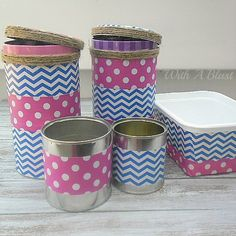 Storage Containers (Duct Tape Crafts)