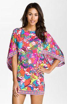 Trina Turk 'Fiji Flower' Tunic Cover-Up | Nordstrom
