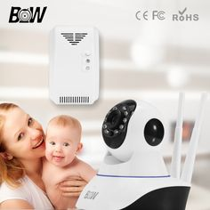 54.91$  Buy here - http://aithe.worlditems.win/all/product.php?id=32377400675 - Wireless Security Camera WiFi Two Way Audio Network Baby Monitor HD CCTV Camera 720P Indoor Home Surveillance Cam + Gas Detector