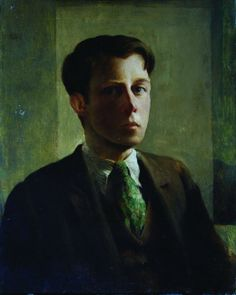 Self-portrait' by Rex Whistler 1924