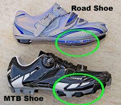 Tipos de calzado ciclista