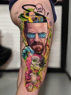 Grey Ink Tattoos, Bad Tattoos, Body Art Tattoos, Tattoo Drawings, Sleeve Tattoos, Tattoo Ink, Crow Tattoos, Phoenix Tattoos, Fun Tattoo