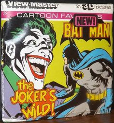 "1981 Batman ""The Joker's Wild!"" View-Master Reels"