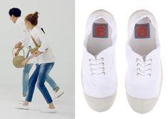 "Gong Hyo-Jin 공효진 in ""It's Okay, That's Love"" Episode 16.  Bensimon Tennis Laced Sneakers #Kdrama #ItsOkayThatsLove 괜찮아, 사랑이야 #GongHyoJin"