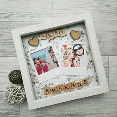 Shadow box ideas for best friends