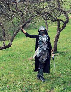 Skyrim: Nightingale Armor Cosplay by Cita555 on deviantART