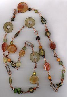 Harvest Copper Link Necklace